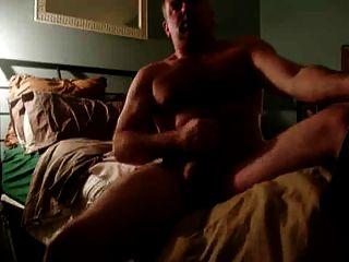 एक कराह रही पिता बिस्तर जैक