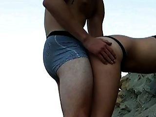समुद्र तट पर बकवास