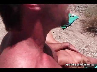 नकली boobed एशियाई स्पोर्टी वेश्या डिक के साथ भरवां छेद हो जाता है