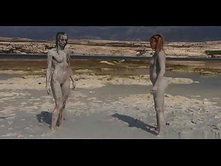 रेतीले मिट्टी कुश्ती
