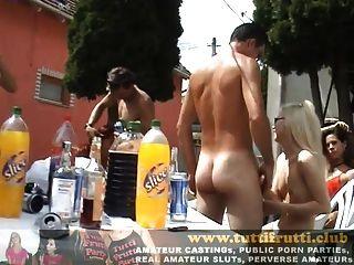 असली चरम शौकिया नंगा नाच