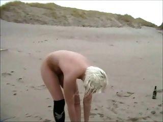 समुद्र तट पर एक दिन