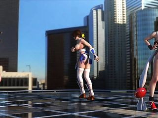 टीफा, कासुमी और माई नाचिंग टॉपलेस