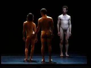 कामुक नृत्य प्रदर्शन 6 नग्न पुरुष बैले