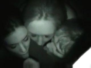 blowjob + पत्नी के साथ चेहरे + उसके 2 दोस्तों