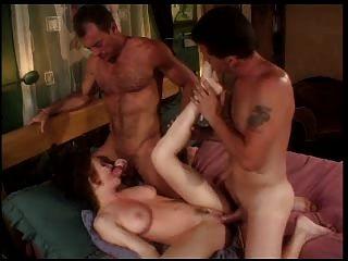 milf डबल प्रवेश अच्छा स्तन!
