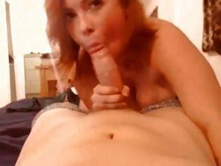 blowjob और सह पर रेड इंडियन स्तन