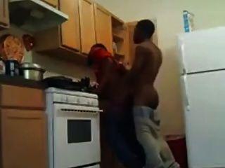 रसोई में पिटाई