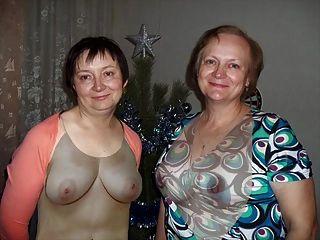कपड़े पहने निर्वस्त्र! परिपक्व माँ और नहीं बेटी! एनीमेशन!