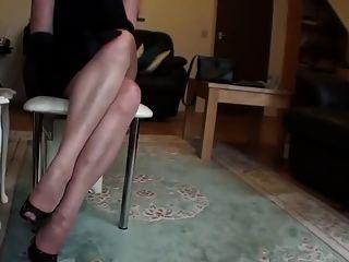 लंबे पैरों में मोज़ा