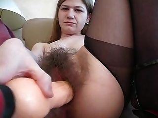 मेरे बालों योनी को खींचो