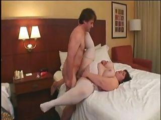 गर्म बकवास 115 होटल के बिस्तर पर बड़े बट परिपक्व ssbbw