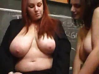 बस्टी समलैंगिक शिक्षक गड़बड़