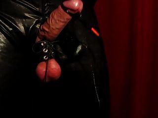 विशाल हाथ मुक्त सह शॉट तंग गेंदों इलेक्ट्रो उत्तेजना