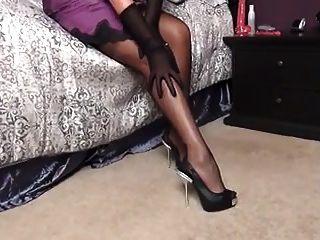 सेक्सी पर्ची और मोज़ा