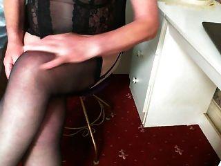 मैं मोज़ा पहने हुए हस्तमैथुन करना चाहता हूँ