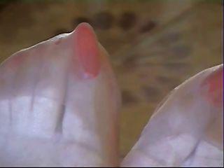 मोज़ा में लंबे समय तक पैर की अंगुली !!!!