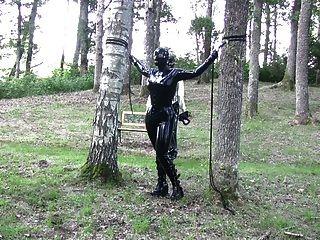 स्वीडिश लकड़ी के ट्रेलर