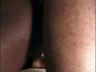 सींग का काला समलैंगिक आदमी गधे लच्छेदार है