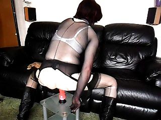 Pantyhose encasement मज़ा pt2 sues