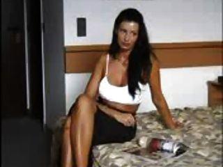 सेक्सी बेब हार्ड सेक्स मोज़े में जेपी spl