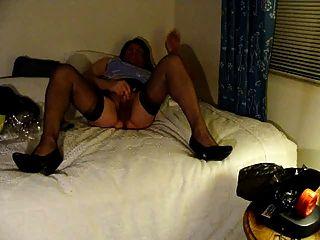मेरे नए कैमरे के साथ मोज़ा में masturbating