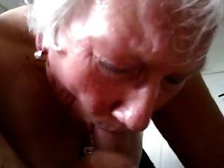नानी सींग का पसंद चूसना डिक