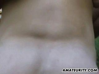 cumshot के साथ बहुत गर्म शौकिया प्रेमिका आउटडोर कार्रवाई
