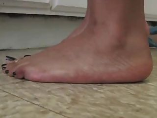आबनूस पैर