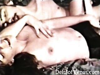 विंटेज 1960 के शौकिया XXX वह इसे craves