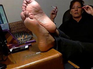 स्वादिष्ट परिपक्व पैर