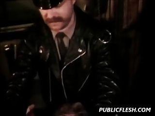 रेट्रो समलैंगिक बीडीएसएम डंजनेज
