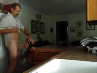 रसोई में मेरी milf कमबख्त