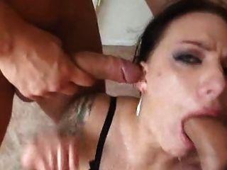एक गर्म blowbang दृश्य dtd में प्यारा juelz