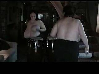 अपने बड़े udders (गायों 25) भाग 2 के साथ ड्रम खेलें