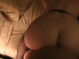 पत्नी बड़े गधे के रूप में वह pounded हो जाता है bounces