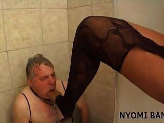 nyomi banxxx आबनूस चिढ़ा पी 2
