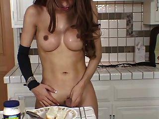 रसोई टी लड़की