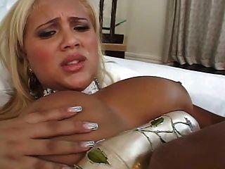 लैटिन लड़की के साथ assfucking