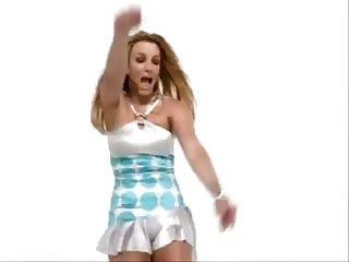 ब्रिटनी भाले उसे सेक्सी गधा बंद नृत्य !!