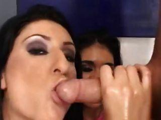 दो बड़ी लूट sluts टैग टीम एक कठिन मुर्गा