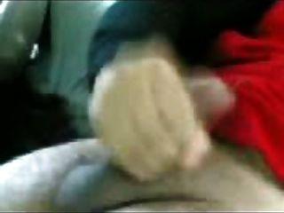 अरबी गैंगबैंग 2 हिजाब लड़की मुखमैथुन कार में