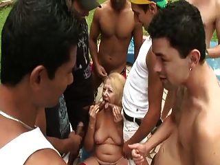 ब्राजील की दादी विक्टोरिया गैंगबैन्गेड