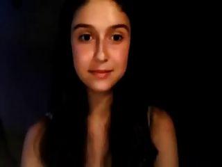 अपरिपक्व शौकिया वेब कैमरा लड़की