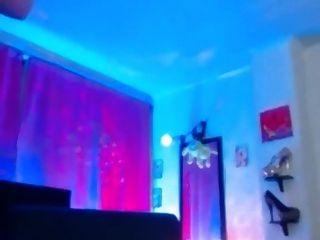 कैम पर सेक्सी महिला खिलौने गधा