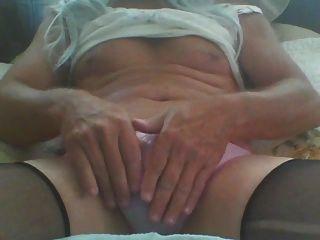 गुलाबी panty में सह