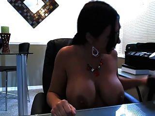 वेबकैम पर वास्तव में अच्छा स्तन