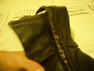 tgirl मिशेल जूते पहने हुए