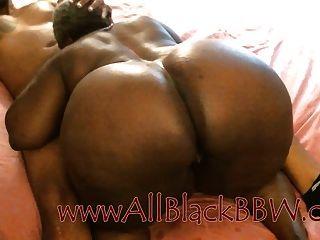बड़ा लूट काला नानी हो जाता है creampie !!!