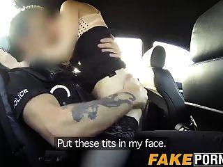 गर्म प्राकृतिक बेब स्टेला गंदा पुलिस द्वारा बड़ा डिक fucked हो जाता है